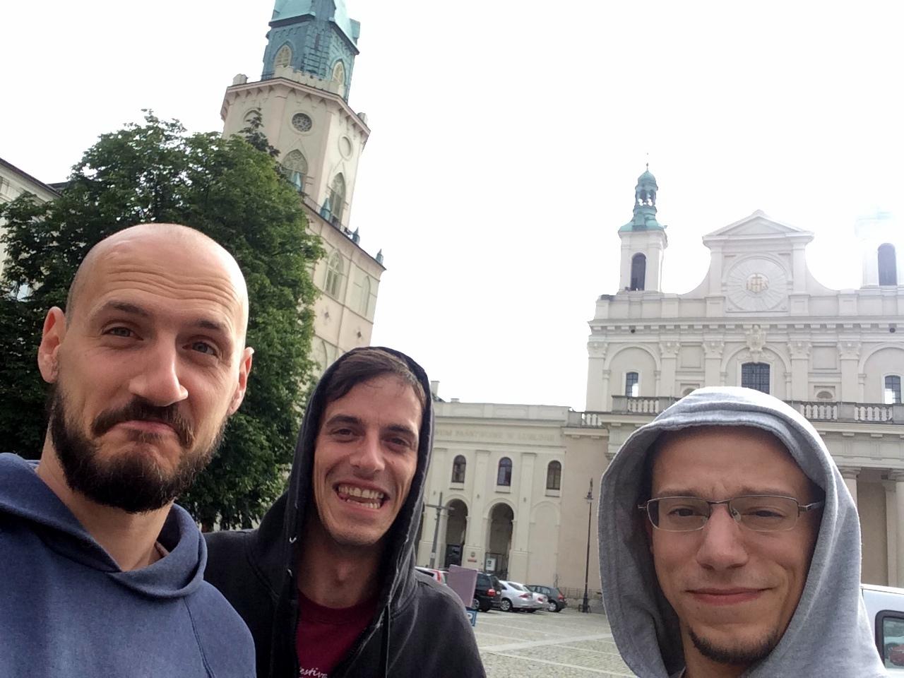 Balansa Slackline Zagreb Team @ urban highline meeting Lublin (PL) 2017