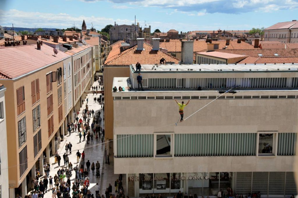 Balansa Slackline na Zadar Outdoor festivalu, Zadar urban Highline