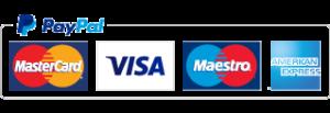 Paypal master visa