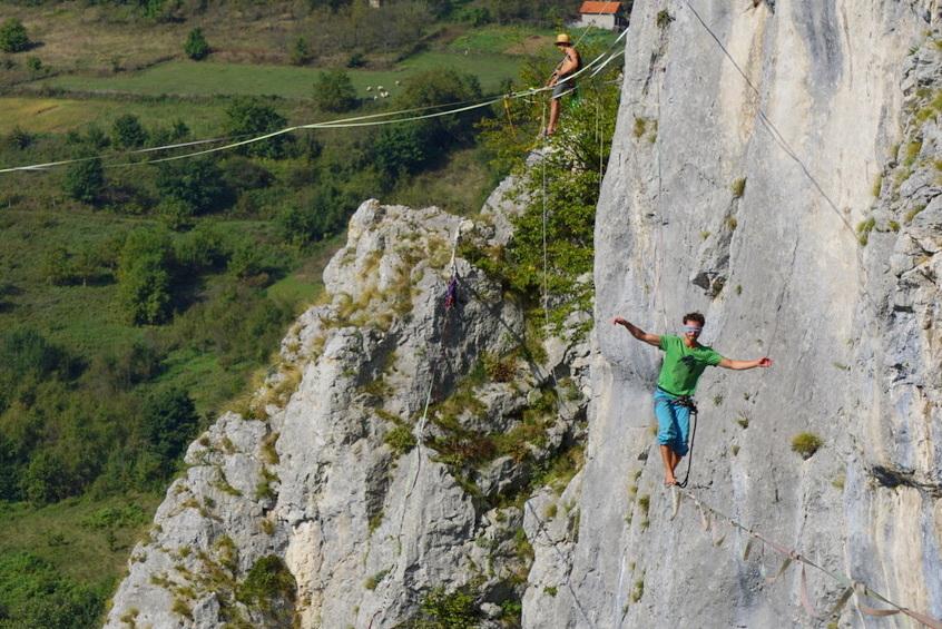 Balansa Slackline - drill & chill 2019 highline meeting Banja luka - BiH