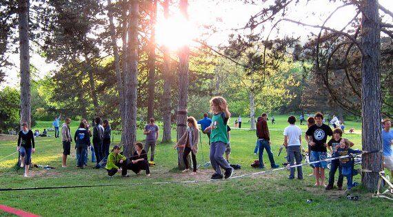 Balansa Slackline - Slackline park