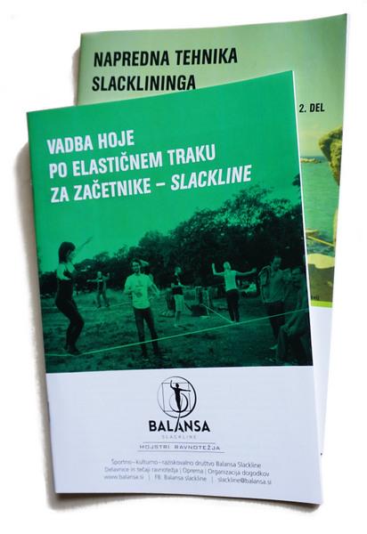 Balansa Slackline priročnik za Trening Ravnotežja in koncentracije