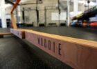Balansa Slackline – Woodie Indoor Slackline – Fitnes oprema za trening ravnoteže i stabilizacije