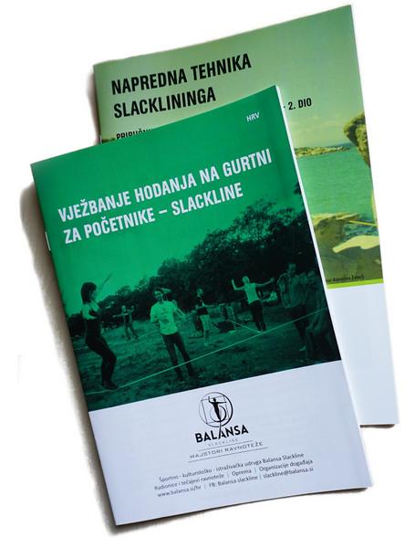 Balansa Slackline priručnik za trening, vježbe ravnoteže, stabilizacije i koncentracije