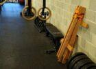 Balansa Slackline Woodie Indoor Slackline, Fitness Equipment for Balance and Stabilization Training