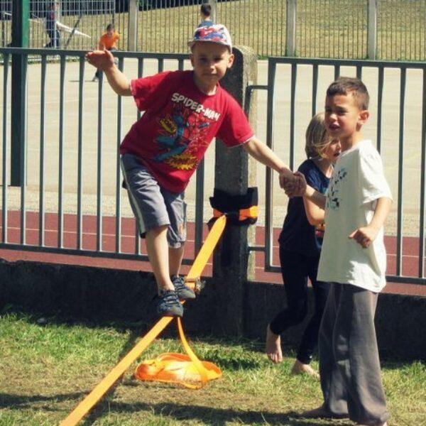 balansa slackline balance training for kids